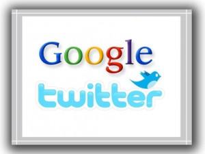 Google, Twitter (i loghi)